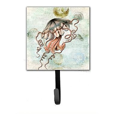 Caroline's Treasures Jellyfish Leash Holder and Wall Hook