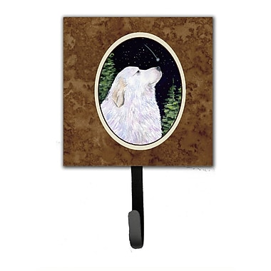 Caroline's Treasures Starry Night Great Pyrenees Leash Holder and Wall Hook
