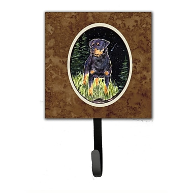 Caroline's Treasures Starry Night Rottweiler Leash Holder and Wall Hook