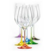 David Shaw Silverware Rainbow All Purpose Wine Goblet (Set of 6)