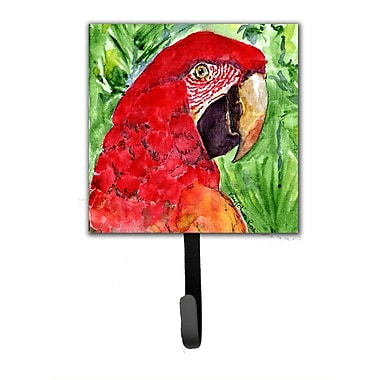 Caroline's Treasures Macaw Leash Holder and Wall Hook