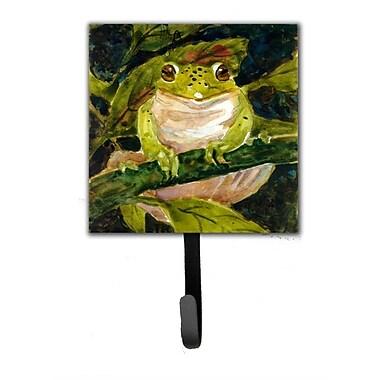 Caroline's Treasures Frog Leash Holder and Wall Hook