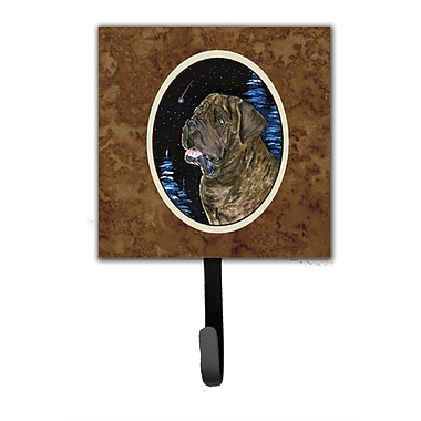 Caroline's Treasures Starry Night Mastiff Leash Holder and Key Hook