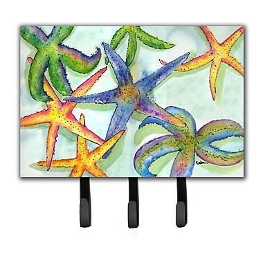 Caroline's Treasures Starfish Leash Holder and Key Hook