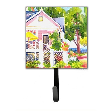 Caroline's Treasures Cottage at The Beach Leash Holder and Wall Hook