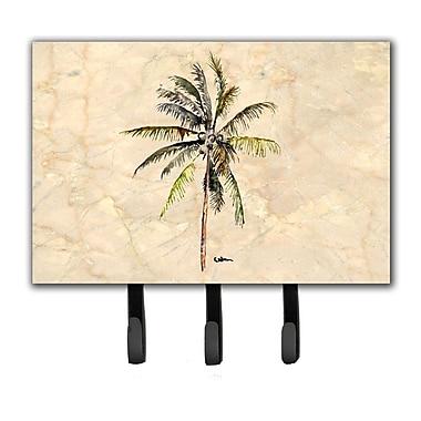 Caroline's Treasures Palm Tree Leash Holder and Key Hook