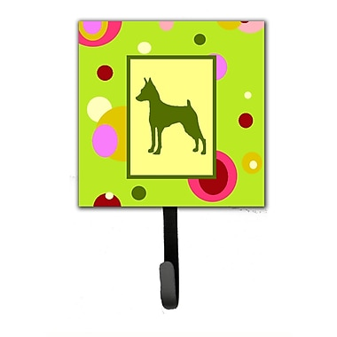 Caroline's Treasures Min Pin Leash Holder and Wall Hook