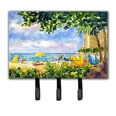 Caroline's Treasures Beach Resort View From The Condo Leash Holder and Key Hook