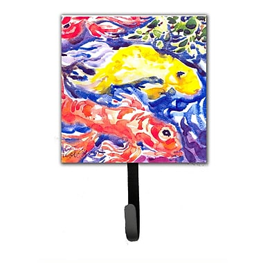 Caroline's Treasures Koi in The Pond Fish Leash Holder and Wall Hook
