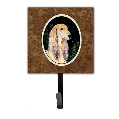 Caroline's Treasures Starry Night Saluki Leash Holder and Wall Hook