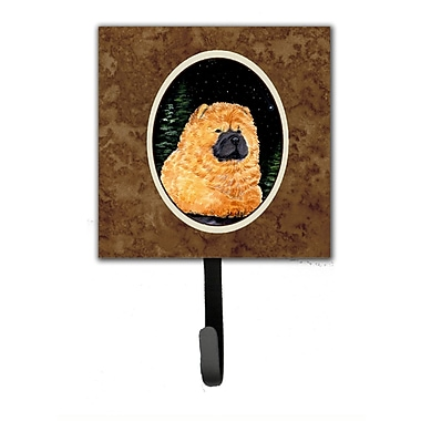 Caroline's Treasures Starry Night Chow Chow Leash Holder and Wall Hook