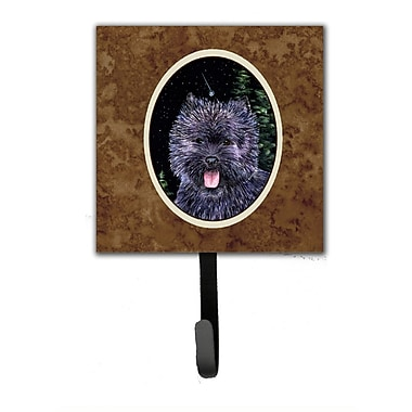 Caroline's Treasures Starry Night Cairn Terrier Leash Holder and Wall Hook