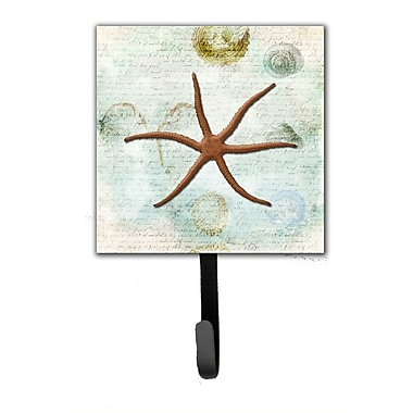 Caroline's Treasures Starfish Leash Holder and Wall Hook