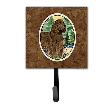 Caroline's Treasures Field Spaniel Leash Holder and Wall Hook