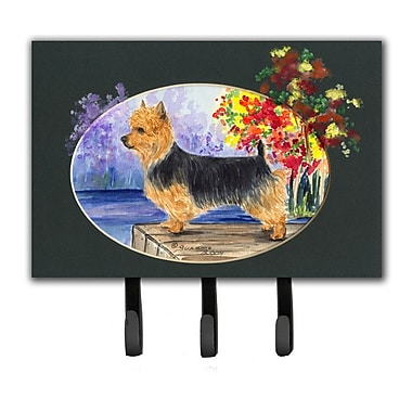 Caroline's Treasures Australian Terrier Leash Holder and Key Hook