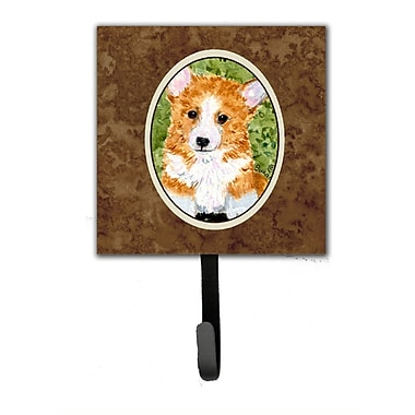 Caroline's Treasures Corgi Leash Holder and Wall Hook