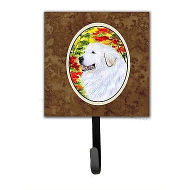 Caroline's Treasures Great Pyrenees Wall Hook