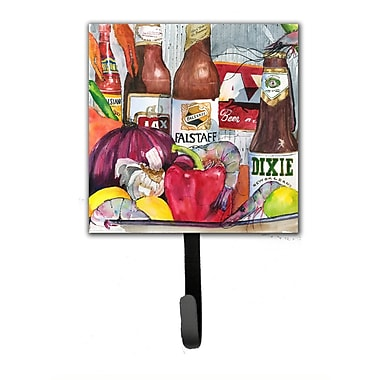 Caroline's Treasures New Orleans Beers and Spices Leash Holder and Wall Hook