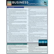 BarCharts, Inc. QuickStudy® Business Communications Reference Set (9781423231448)