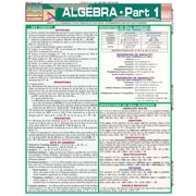 BarCharts, Inc. - QuickStudy® Algebra Reference Set