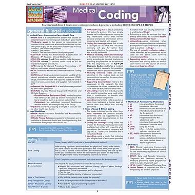 BarCharts, Inc. - QuickStudy® Medical Coding Reference Set