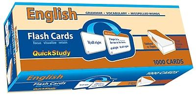BarCharts, Inc. QuickStudy® English Flashcard & Reference Set (9781423230601)