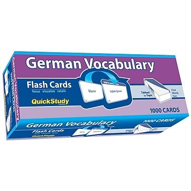 BarCharts, Inc. QuickStudy® German Flashcard & Reference Set (9781423230618)