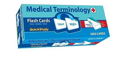 BarCharts, Inc. QuickStudy® Medical Term: Flashcard & Reference Set (9781423230632)