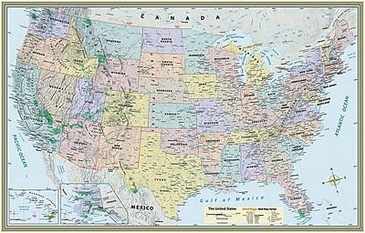 BarCharts, Inc. QuickStudy® World & US Map Set, Paper (9781423230700)