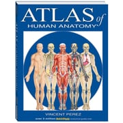 BarCharts, Inc. QuickStudy® Atlas of Human Anatomy Book (9781423201724)