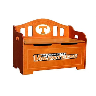 Fan Creations NCAA Stained Kids Novelty Chair w/ Storage Compartment; Tennessee