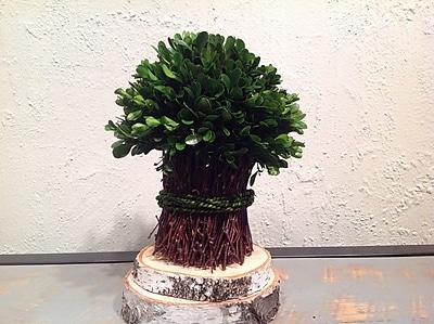 Mills Floral Boxwood Garden Bouquet 10.25''