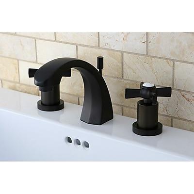 kingston brass millennium double handle widespread bathroom