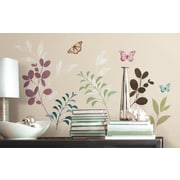 Room Mates Deco Botanical Butterfly Wall Decal