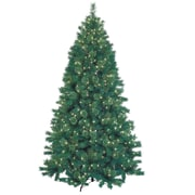 Jeco Inc. 7.5' Green Artificial Christmas Tree w/ 600 Lights and Stand