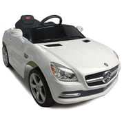 Vroom Rider Mercedes-Benz SLK Rastar 6V Battery Powered Car; White