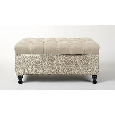 Jennifer Taylor Naomi Upholstered Storage Bench