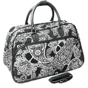 All-Seasons 21'' Travel Duffel; White
