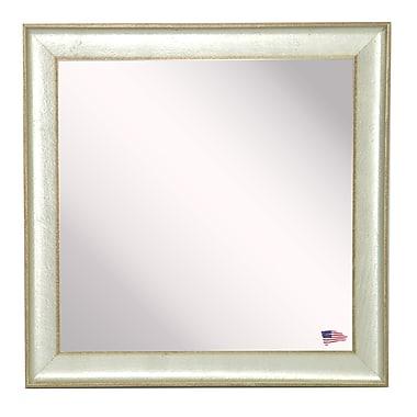 Rayne Mirrors Ava Vintage Mirror; 15''.5'' H X 15''.5'' W