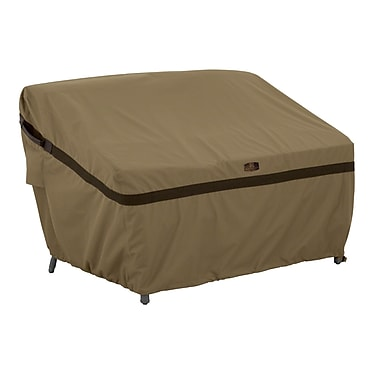 Classic Accessories Hickory Heavy-Duty Sofa Loveseat Cover; Small