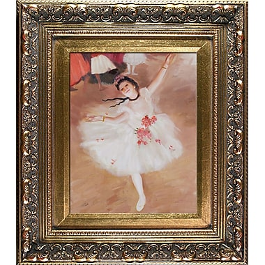 Tori Home Degas Star Dancer Framed Painting