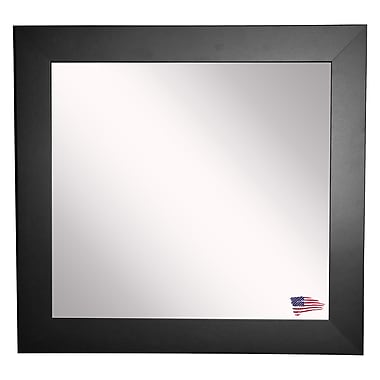 Rayne Mirrors Ava Satin Wide Wall Mirror; 35.5'' W X 35.5'' H