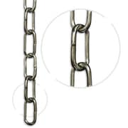 RCH Supply Company Standard Un-welded Chain Break; Polished Nickel