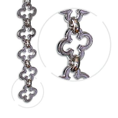 RCH Supply Company Motif Un-Welded Chain; Polished Nickel