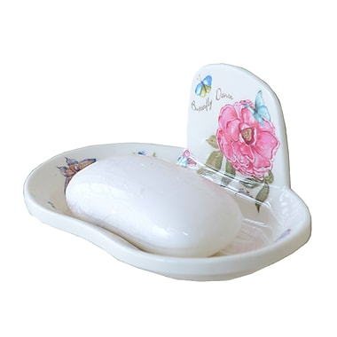 Shall Housewares Butterfly Soap Dish