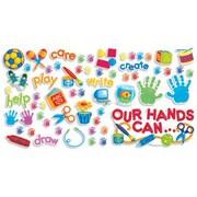 Teachers Friend Our Hands Can Bulletin Board Cut Out