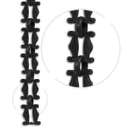 RCH Supply Company Motif Un-Welded Link Solid Brass Chain; Oil Bronze Black