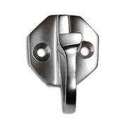 RCH Supply Company Brass Single Arm Wall Hook; Satin Chrome
