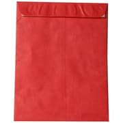 JAM Paper® 11.5 x 14.5 Tyvek Envelopes, Open End Catalog with Self Adhesive Closure, Red, 10/pack (V021388B)