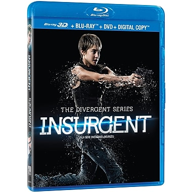 Divergent: Insurgent (3D Blu-ray/Blu-ray/DVD)
